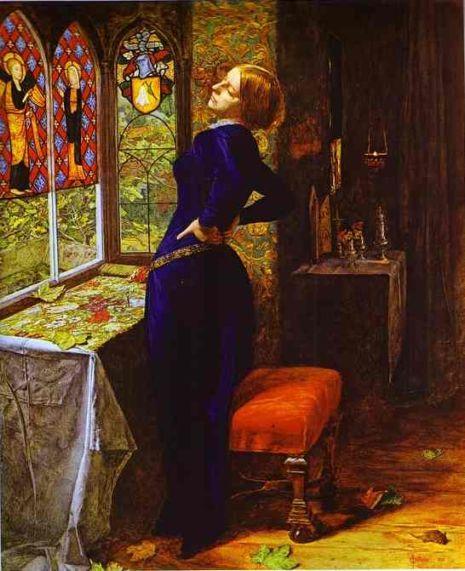 mariana tennyson Tennyson és két bátyja is verseket írogatott már tinédzser korában,  ebben foglal helyet két híressé vált költeménye a claribel és a mariana.