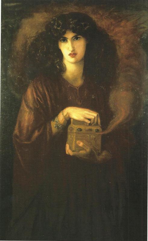 'Pandora' by Dante Gabriel Rossetti. Model: Jane Morris