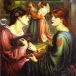 'The Bower Meadow', Dante Gabriel Rossetti