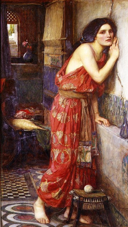 'Thisbe', John William Waterhouse
