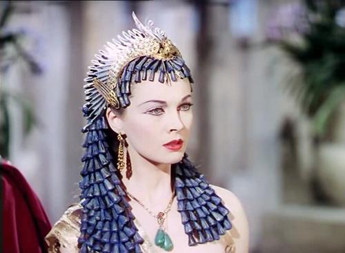 Vivien Leigh as Cleopatra
