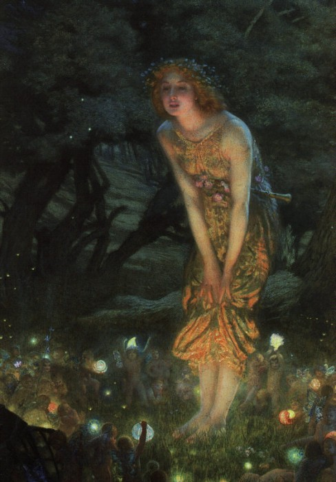 'Midsummer Eve', Edward Robert Hughes