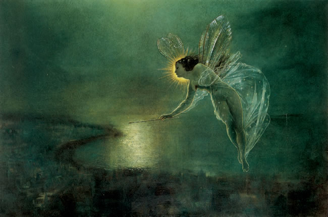 'Spirit of the Night', John Atkins Grimshaw
