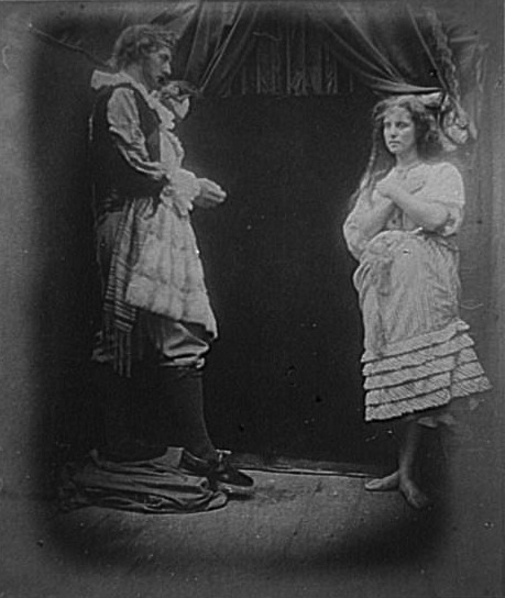 'King Cophetua and the Beggar Maid', Julia Margaret Cameron