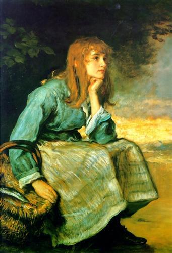 'Caller Herrin',Sir John Everett Millais