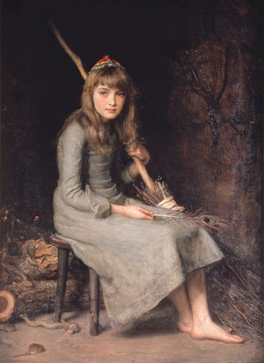 'Cinderella', Sir John Everett Millais