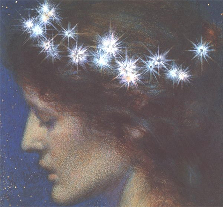 'Night', Edward Robert Hughes