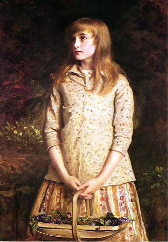 Sweetest Eyes Were Ever Seen, Sir John Everett Millais