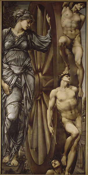 'Wheel of Fortune', Sir Edward Burne-Jones