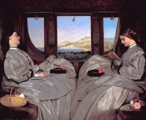 'The Traveling Companions', Augustus Leopold Egg