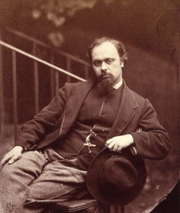 Dante Gabriel Rossetti photographed by Charles Lutwidge Dodgson (Lewis Carroll)