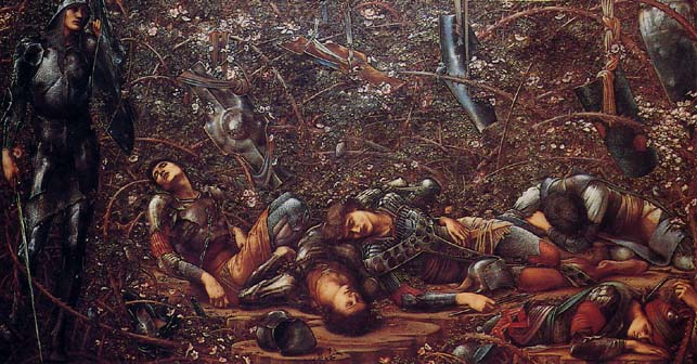 'The Briar Wood', Sir Edward Burne-Jones