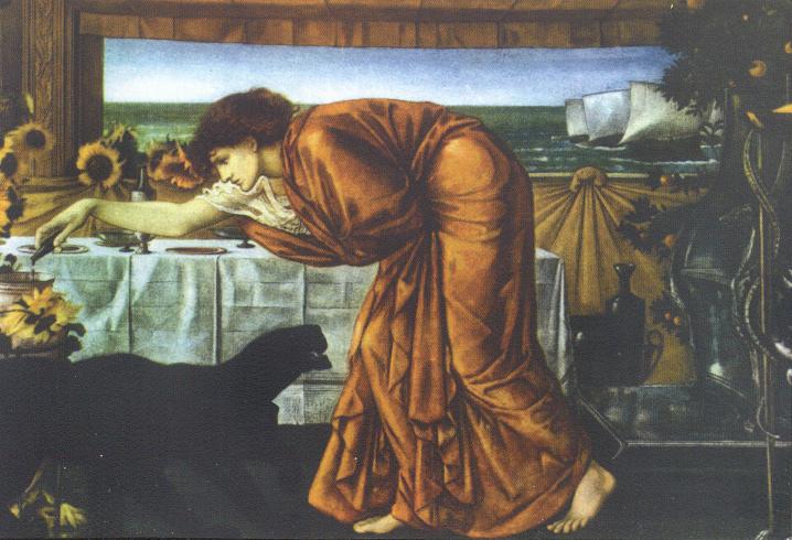 'The Wine of Circe', Edward Burne-Jones