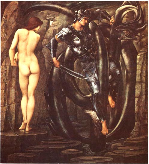 'The Doom Fulfilled', Sir Edward Burne-Jones