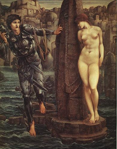 'The Rock of Doom', Sir Edward Burne-Jones