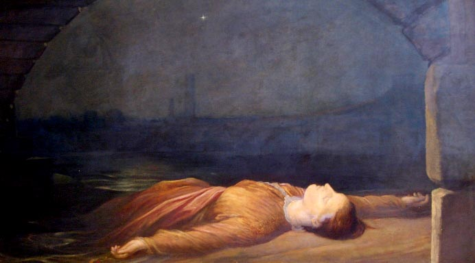 'Found Drowned' G.F. Watts