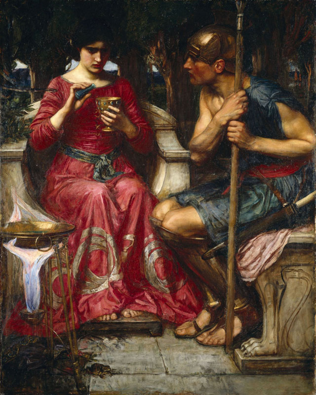'Jason and Medea', John William Waterhouse