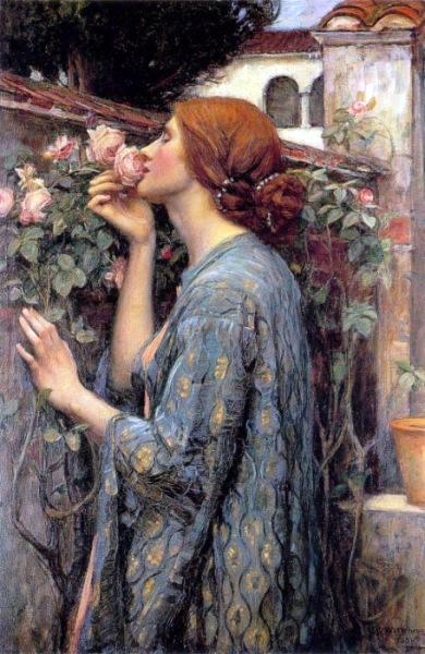 'The Soul of the Rose', also known as 'My Sweet Rose', by John William Waterhouse