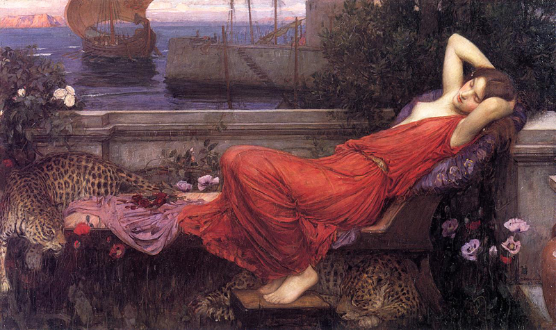 'Ariadne', John William Waterhouse