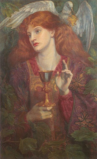 'The Holy Grail' (1874), Dante Gabriel Rossetti