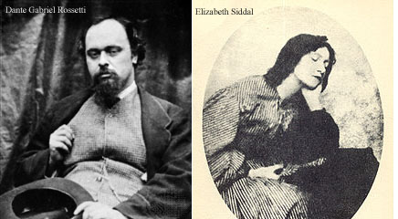 See The Marriage of Dante Gabriel Rossetti and Elizabeth Siddal