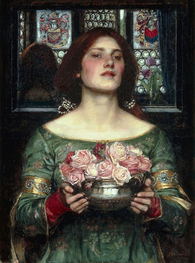 'Gather Ye Rosebuds While Ye May', John William Waterhouse