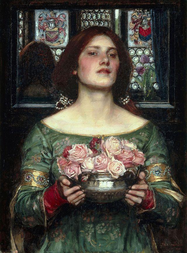 'Gather Ye Rosebuds While Ye May', John William Waterhouse