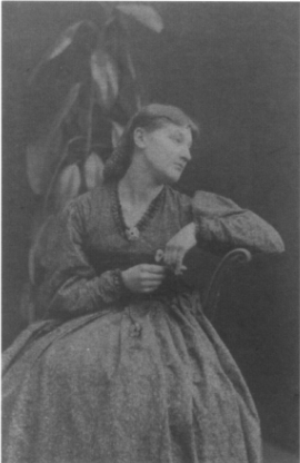 Photograph of Alexa Wilding by John Robert Parsons