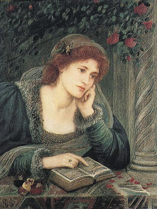 'Beatrice', Marie Spartali Stillman