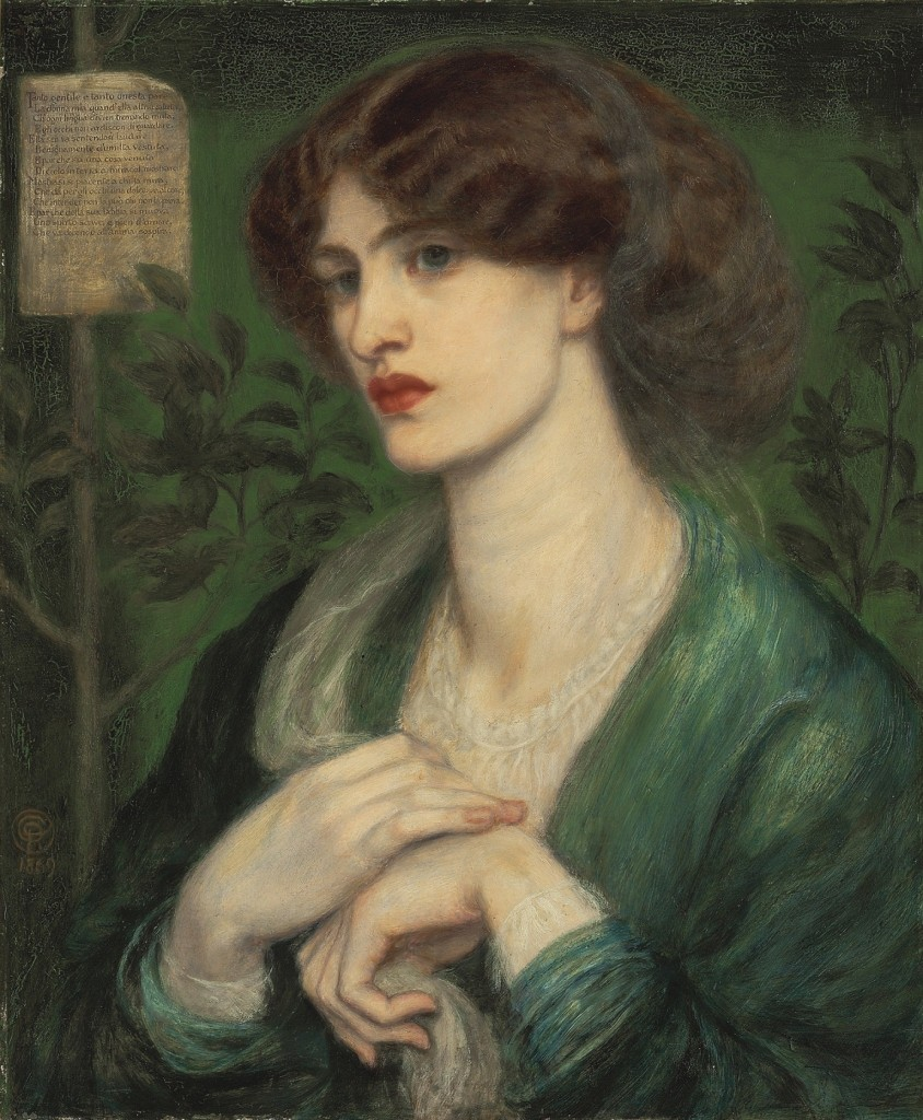 'The Salutation of Beatrice', Dante Gabriel Rossetti