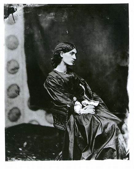 Jane Morris. Posed by Rossetti, photographed by John Robert Parsons