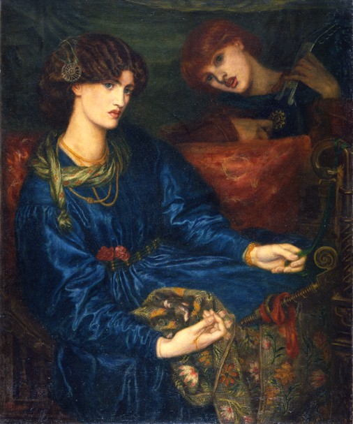 'Mariana' by Dante Gabriel Rossetti, Aberdeen Art Gallery and Museums Collection