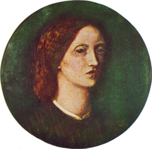 Self portrait of Elizabeth Siddal