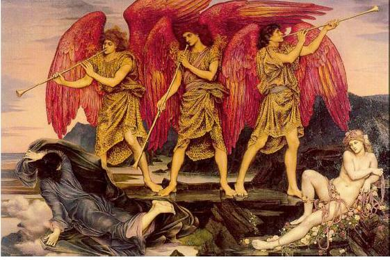 'Aurora Triumphans', Evelyn De Morgan