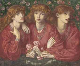 'Rosa Triplex'. Dante Gabriel Rossetti