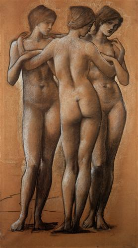 'The Three Graces', Sir Edward Burne-Jones