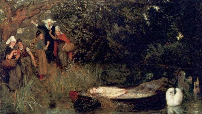 'The Lady of Shalott', Arthur Hughes