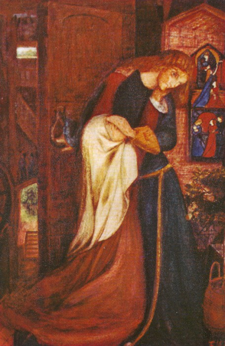 'Lady Clare', painted by Elizabeth Siddal