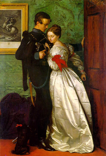 'The Black Brunswicker', Sir John Everett Millais