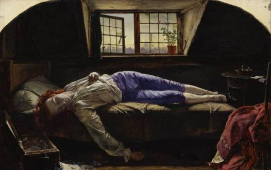 'The Death of Chatterton', Henry Wallis