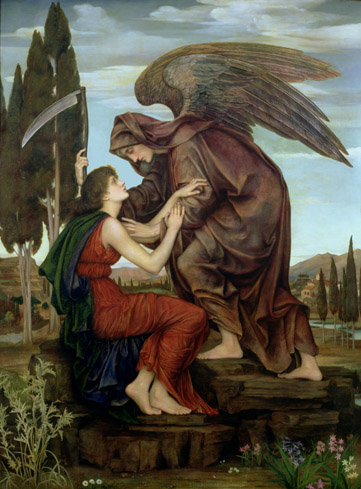 'The Angel of Death', Evelyn De Morgan