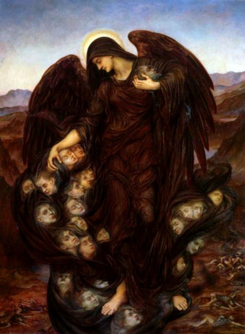 'The Field of the Slain', Evelyn De Morgan