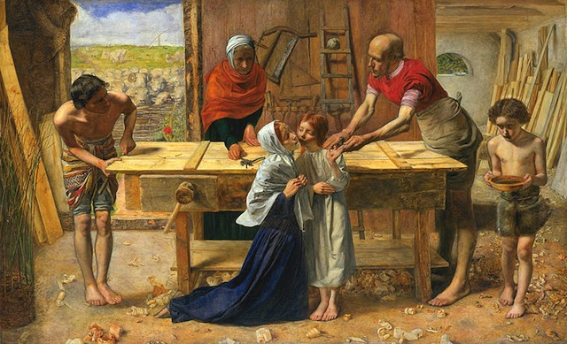 'Christ in the House of His Parents', Sir John Everett Millais
