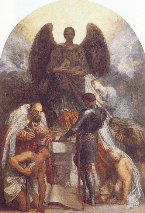 'The Angel of Death', G.F. Watts
