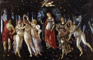 Botticelli's 'Primavera' (1482)