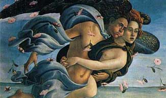 Detail from the Birth of Venus