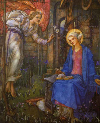 'The Anunciation', Edward Reginald Frampton