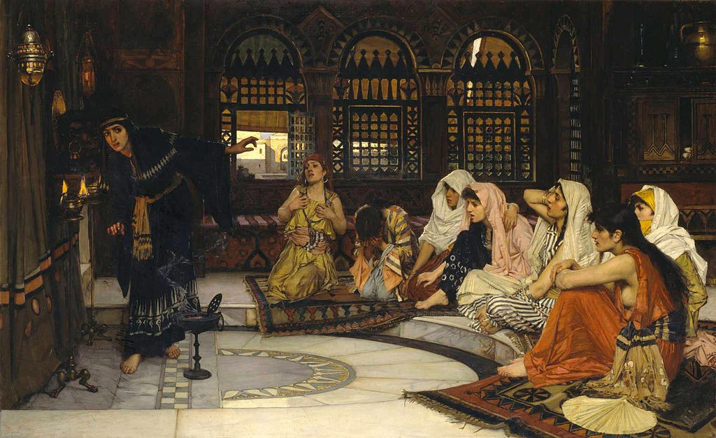 'Consulting the Oracle', John William Waterhouse