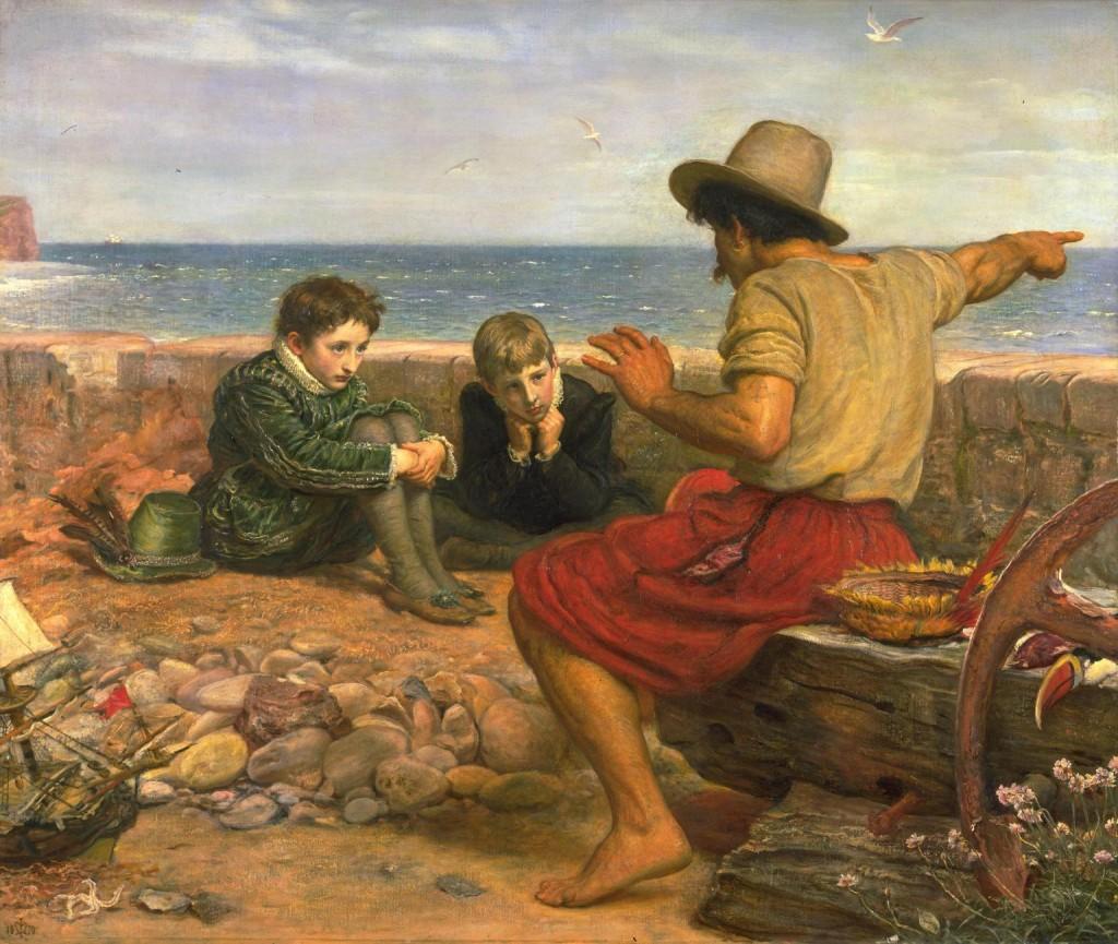 'The Boyhood of Raleigh',Sir John Everett Millais