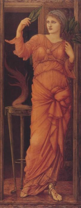 Sibylla Delphica, or the Delphic Sibyl, by Sir Edward Burne-Jones.